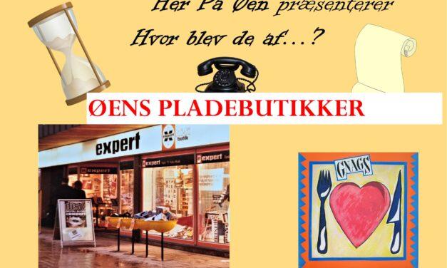 Hvor blev de af…? Pladebutikkerne i Nykøbing (Expert Radio)